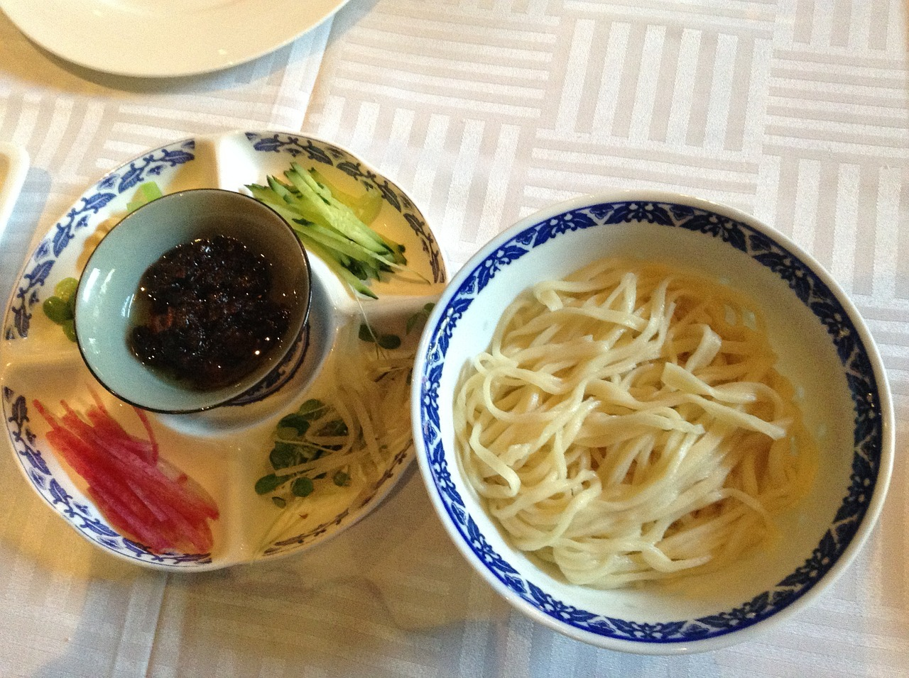 Noodles with Soy Bean Paste
